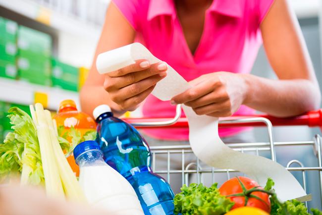 Список продуктов нужно составить заранее