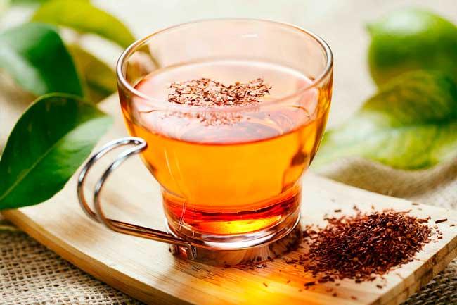 Содержится в чае ройбуш меньше всего кофеина
