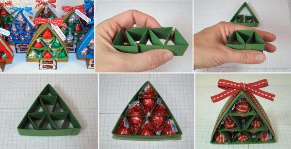 Подарочная упаковка для конфет
