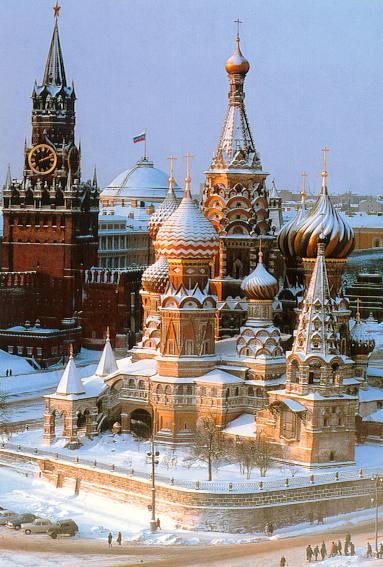 Умеренная температура в столице зимой