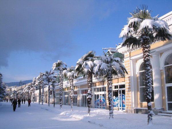 Зима на полуострове