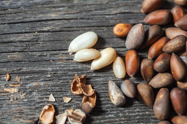 Очищенные ядра кедровых орехов