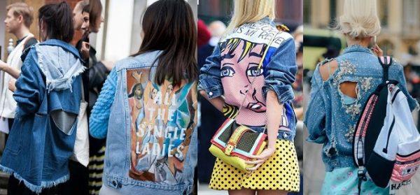 Популярные модели джинсовых курток
