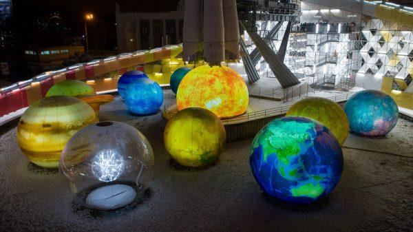 Инсталляции планет