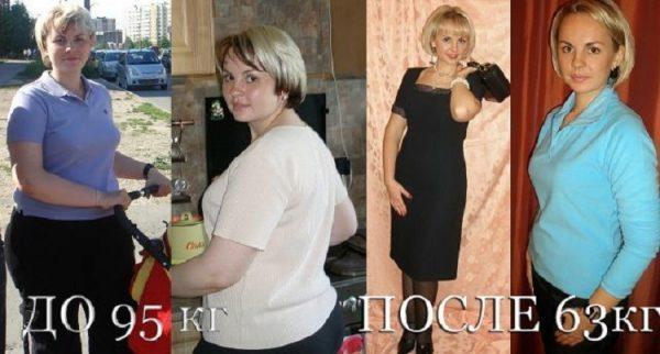 Фото похудевших: до и после