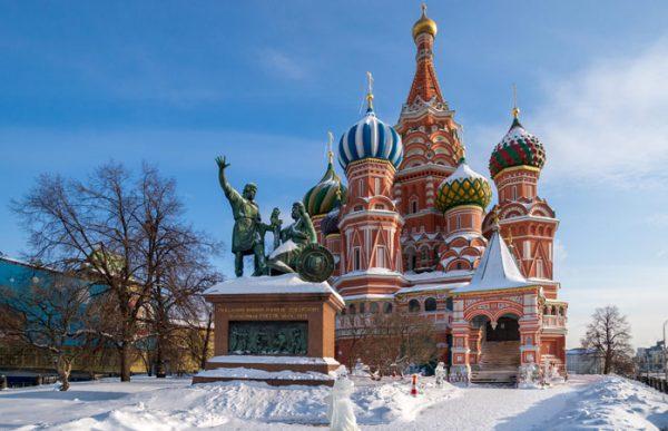 Мягкая зима в Москве