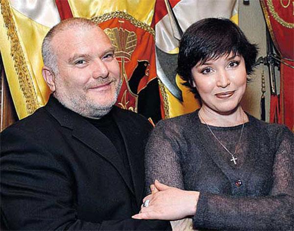 Со вторым мужем Евгением Федоровым