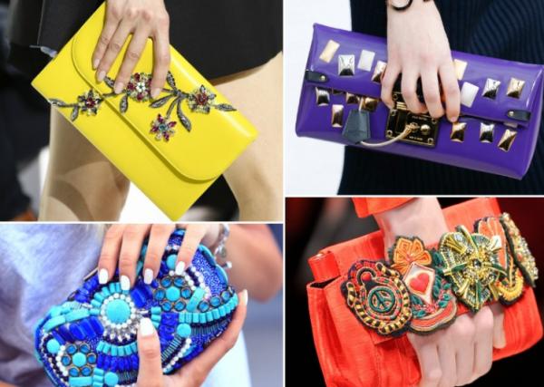 Модная сумочка-клатч