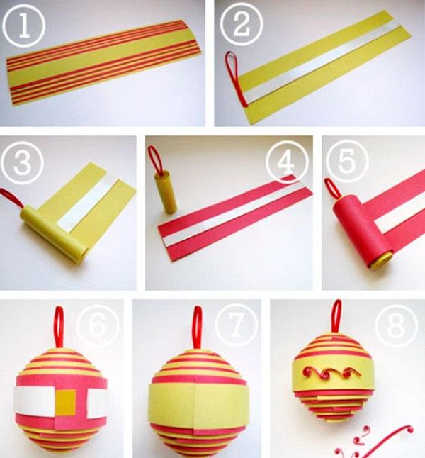 Пошаговая инструкция по изготовлению рулонного шарика