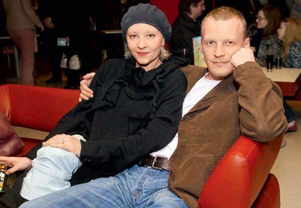Актер со своей женой Марией