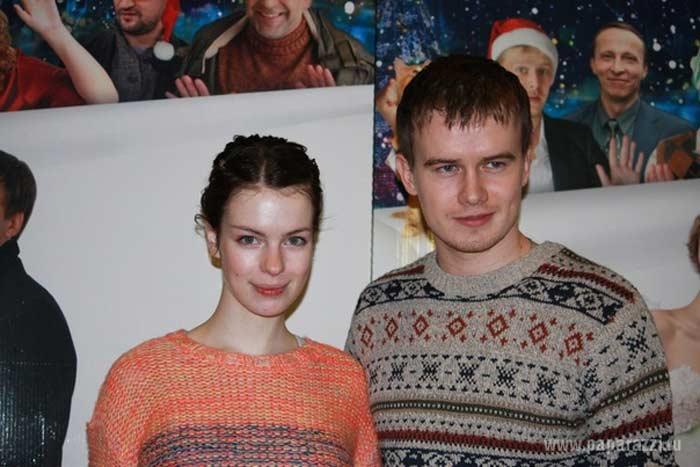 С бывшей женой Анной Старшенбаум