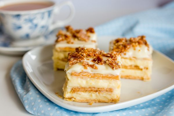 Торт с бананами и сгущенкой