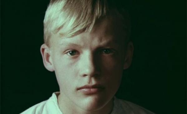 Алексей Серебряков в детстве