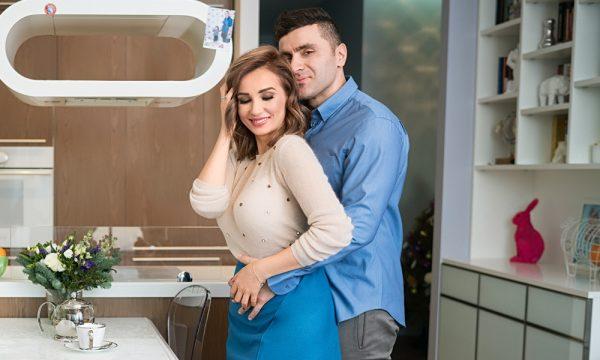 С бывшим мужем Гурамом Баблишвили