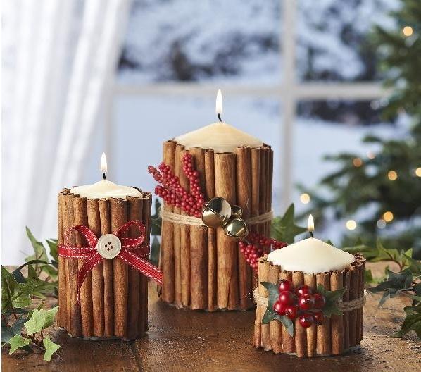 Декорация свечами