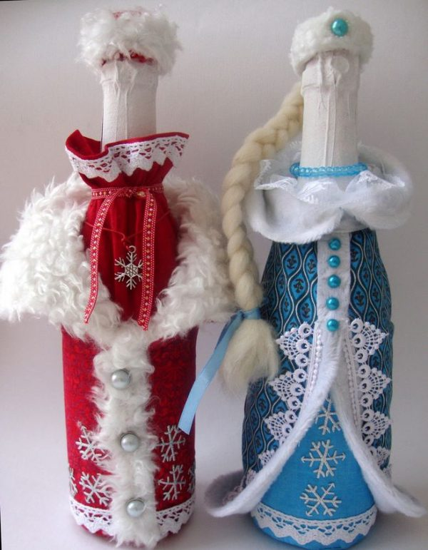 """Декор """"Дед Мороз"""" и """"Снегурочка"""""""