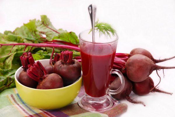 Свекольный сок эффективное средство от простудных заболеваний