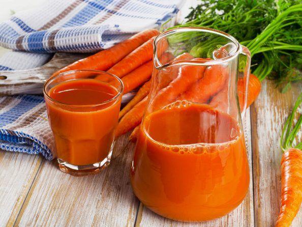 Морковный сок нужно пить в небольших количествах, чтобы не навредить своему организму