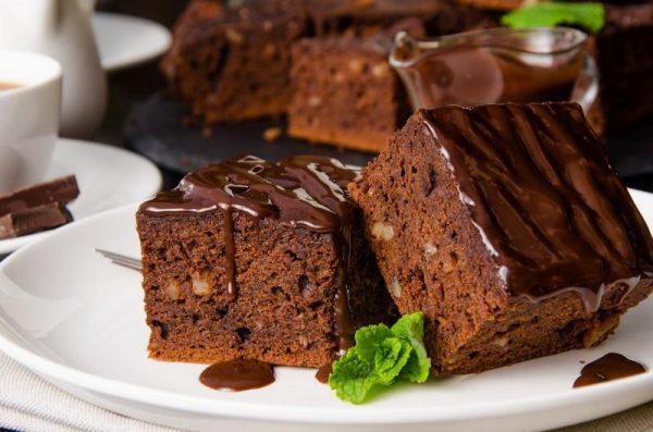 Вкусный шоколадный брауни
