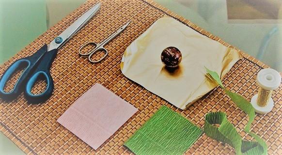 Материалы для сладкого букета