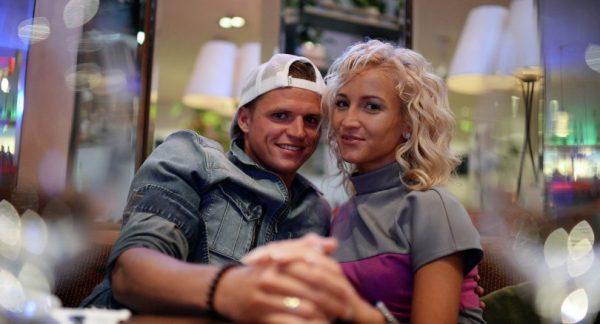 С бывшим мужем Дмитрием Тарасовым