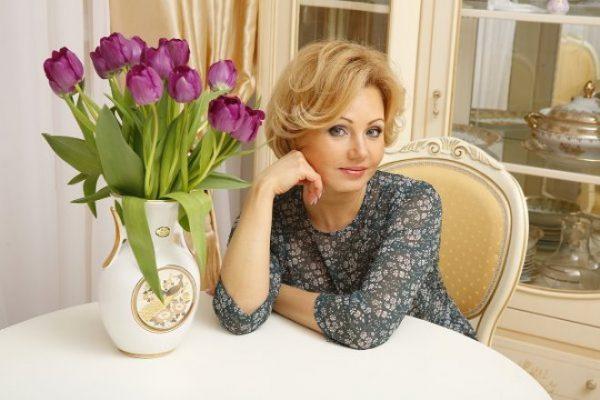 Певица и актриса Ирина Климова