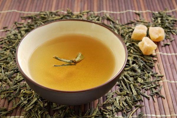 Желтый чай из семян хельбы
