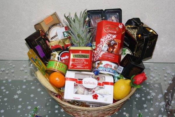 Новогодний набор продуктов