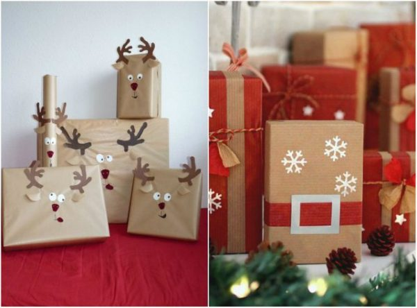 Выбранный подарок нужно красиво упаковать