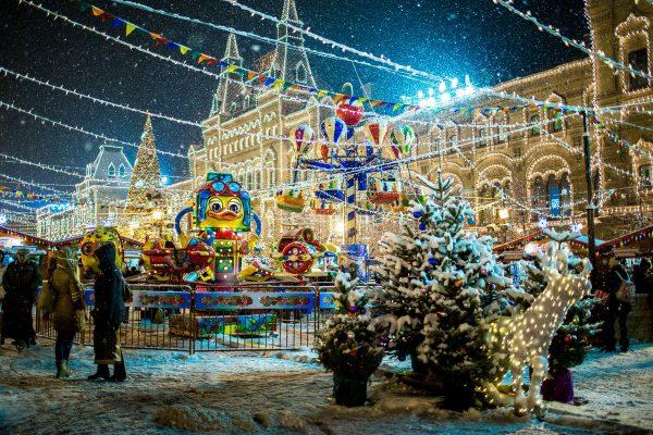 Устройте семейную прогулку по Красной площади