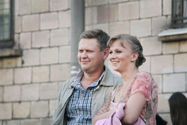 Андрей Гульнев с женой