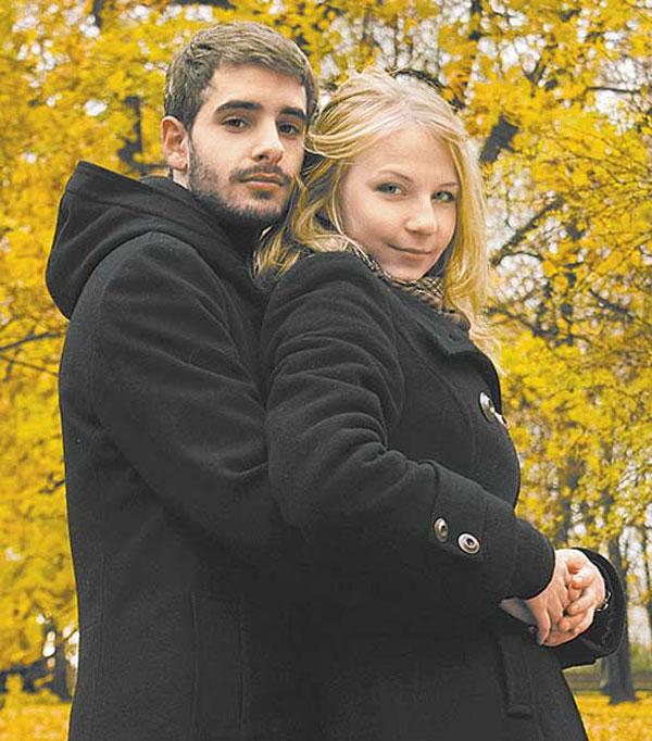 Дочь Ольги Науменко Светлана с мужем Антуаном