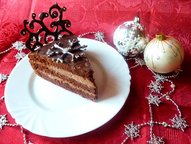 Украшение торта из шоколада