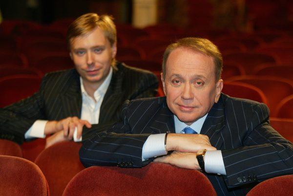 Александр Масляков с сыном