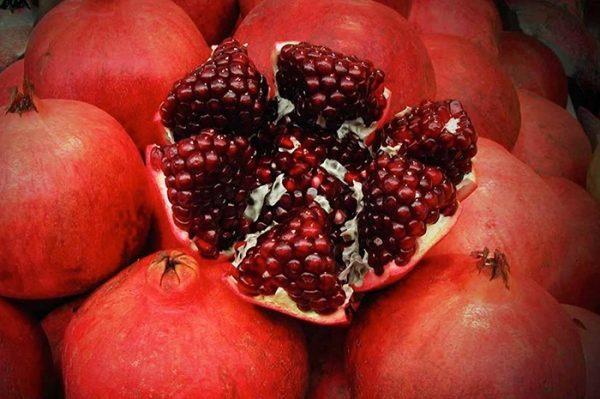 В гранате содержится большое количество витаминов