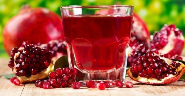 Гранатовый сок широко применяется в народной медицине