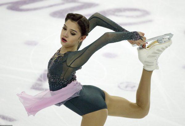 Евгения Медведева на льду