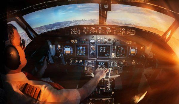 Виртуальный авиатренажер