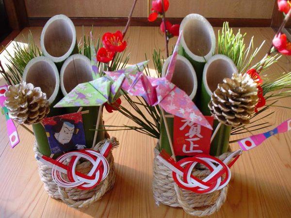 Кадомацу - главный атрибут празднования Нового года в Японии