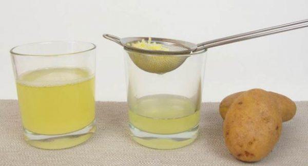 Как приготовить сок из картофеля