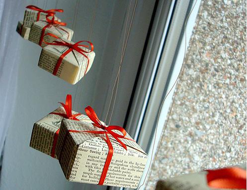 Коробочки на окне