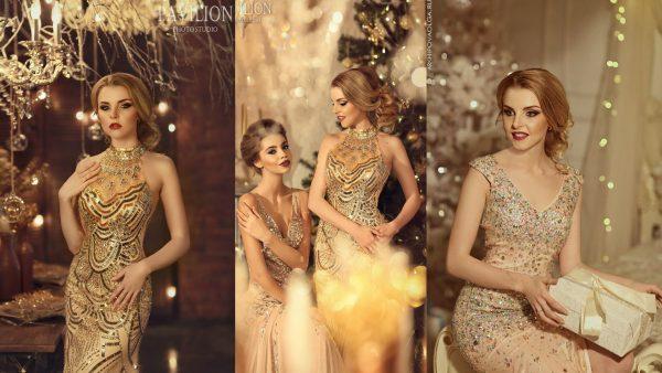 Торжественные платья актуальных оттенков