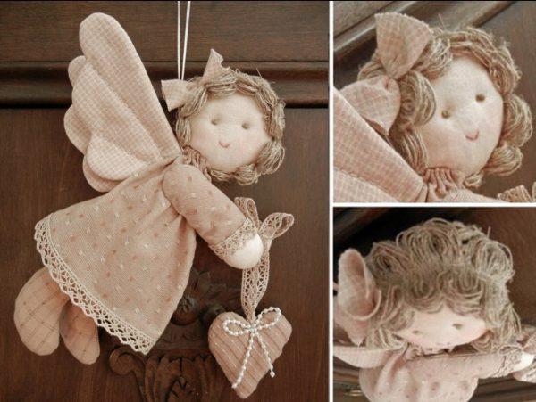 Красивый ангелочек своими руками