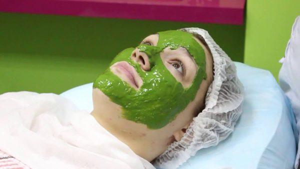 Хлорелла используется для приготовления масок