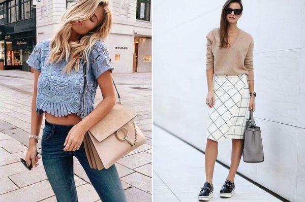 Весенняя модная одежда