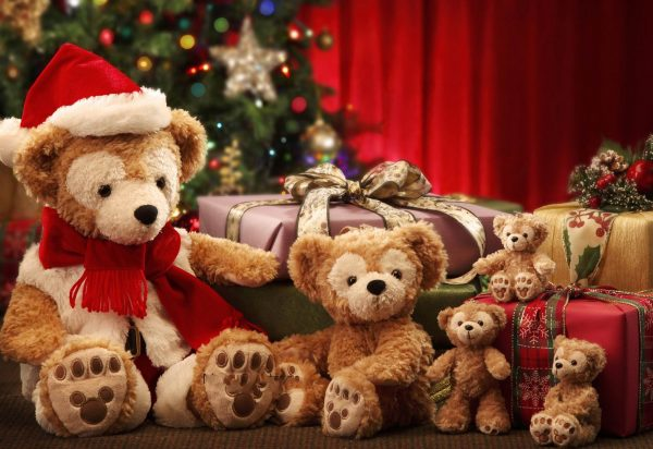 Плюшевый мишка станет лучшим подарком на Новый год