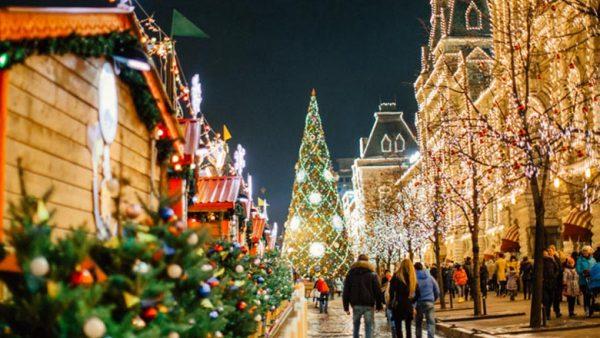 Прогулки по зимней Москве