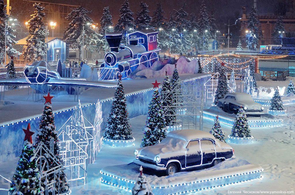 Новогодняя сказка в Москве