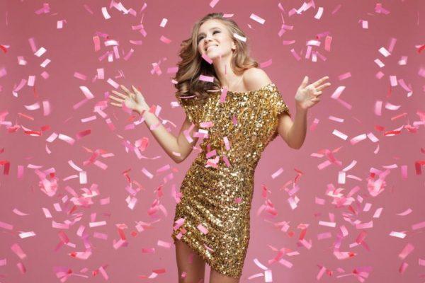 Коктейльное платье - прекрасный выбор для празднования Нового года