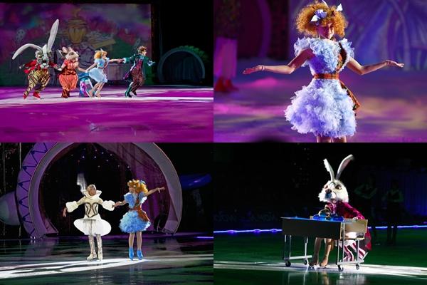 Спектакль по мотивам сказки про Алису в волшебной стране